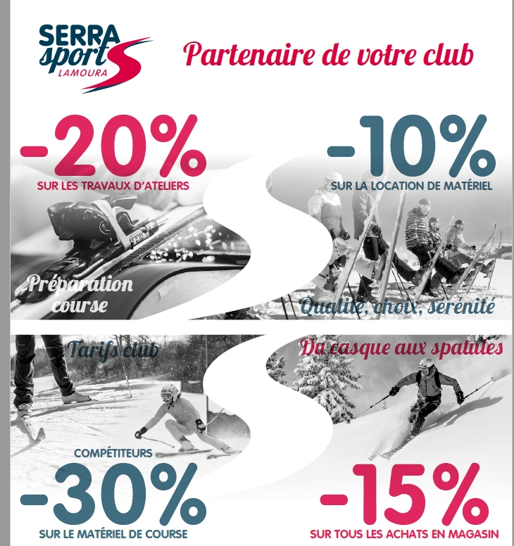 Offre licencies serra sport